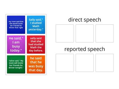 direct or reported speech