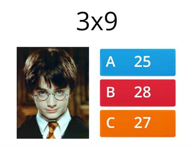 Maestra Valentina- Harry Potter quiz