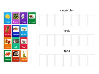 food (vegetables, fruit, food)