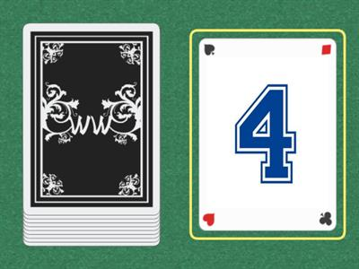 Cards 1-5