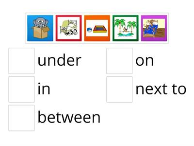 NEA2 : Where is / are ... ? - preposition of place