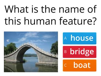 Human Features Quiz