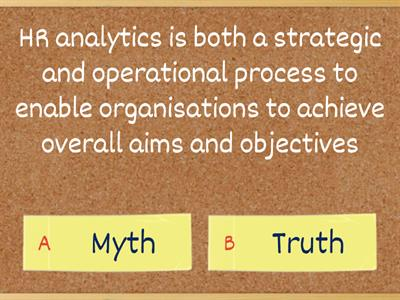 HR Data - Myth or Truth