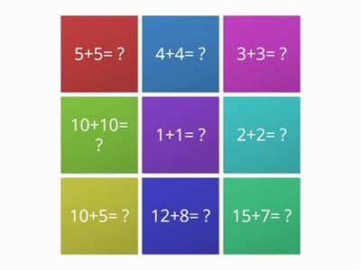 maths adding and doubling questions