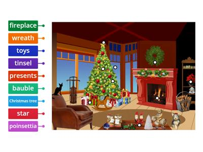 Christmas - vocabulary ( A1)