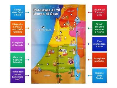 Cartina Muta Della Palestina.Primaria Religione La Palestina Risorse Per L Insegnamento