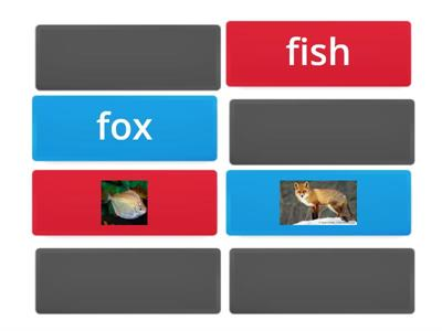 Phonics Ff - Match the words that start with the Ff sound with their pictures .