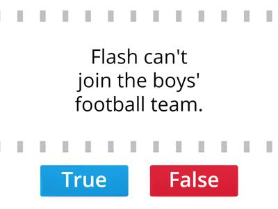 SM2 U8 Sports Picture Story True or False