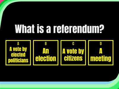 A simple EU referendum quiz