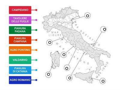 Cartina Italia Pianure.Geografia Le Pianure Italiane Risorse Per L Insegnamento