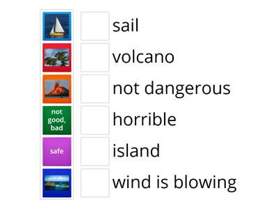 Vocabulary The Island