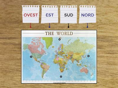 Cartina Italia Nord Sud Est Ovest.Est Ovest Sud Nord Telequiz Risorse Per L Insegnamento