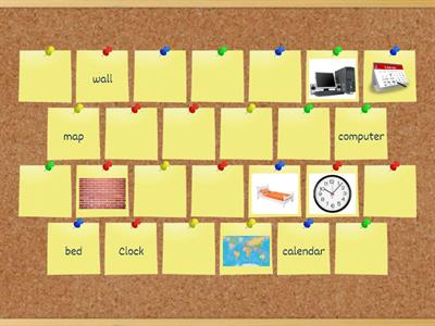 Memory Game - Bedroom