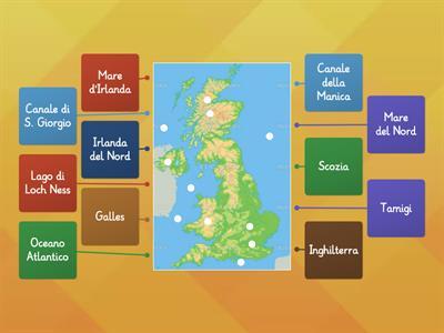 Cartina Muta Inghilterra Da Completare.Carta Muta Regno Unito Risorse Per L Insegnamento