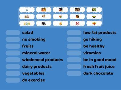 Healthy lifestyle/Healthy eating  2