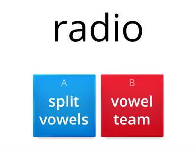8.13 Split vowels or vowel team?
