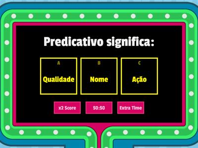 8 ano - Predicativo do Objeto