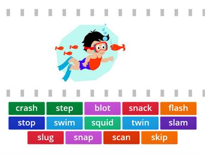 matching s /beginning blends