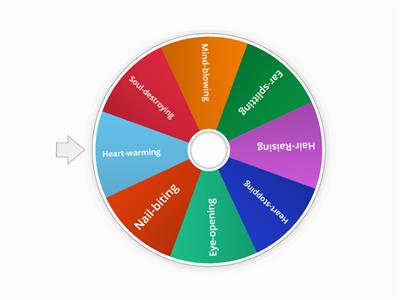 Spin The Wheel - Compund Adjectives