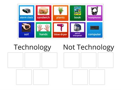 Is it Technology?: Picture Sort