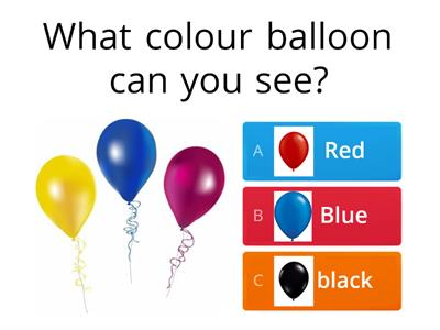Balloon Quiz