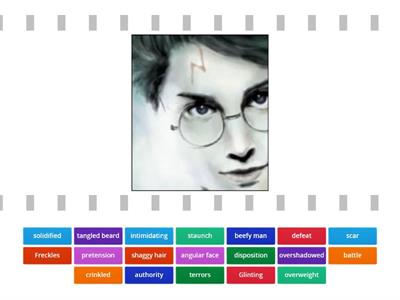 Harry Potter Lesson 1 Vocabulary