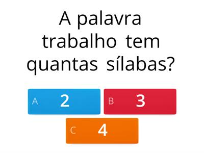 Quiz 3° ano ensino fundamental