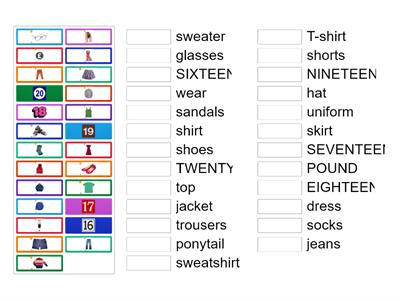 Hello Explorer 2 Unit 5  Clothes Numbers