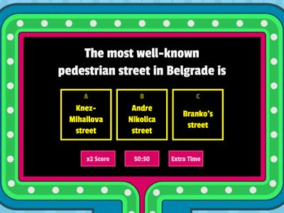 How much do you know about Belgrade