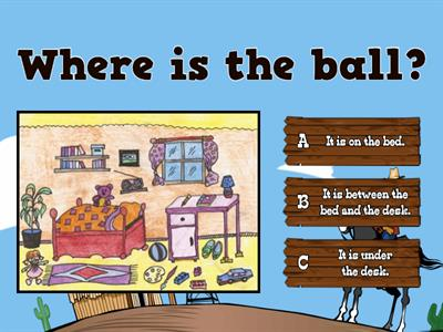 Kid's Box 2 Unit 8 prepositions