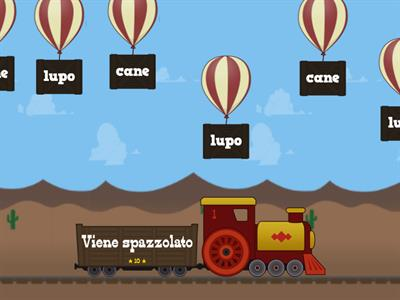 Il lupo e il cane... con Balloon Pop