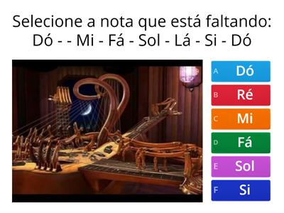 Quiz Musical - Canto