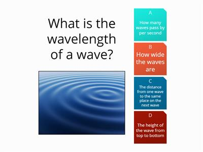 P1b Waves basic ideas Quiz