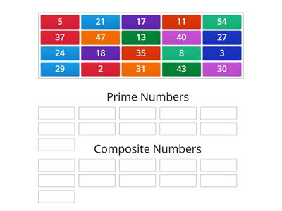 Prime and Composite Sort