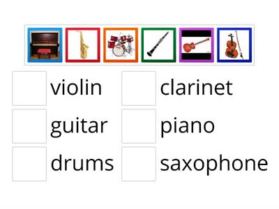 Musical instruments Discover English starter