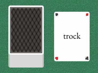 Boom - ck real and nonsense words