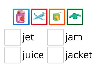 Oxford Phonics Letter Jj