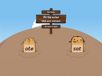 word family -ate or-at