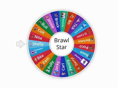 Roue Brawl Star