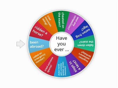 Teens 5 - Have you ever... for teens - (Speaking Present Perfect)