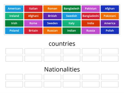 match countries and nationalities