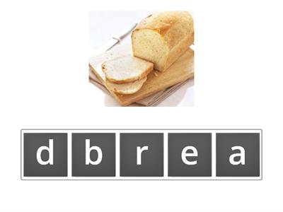 Food Anagram