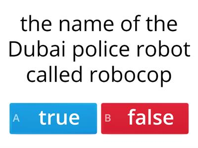 true or false (revision on unit 1 )