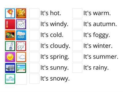 Copy of Seasons and weather