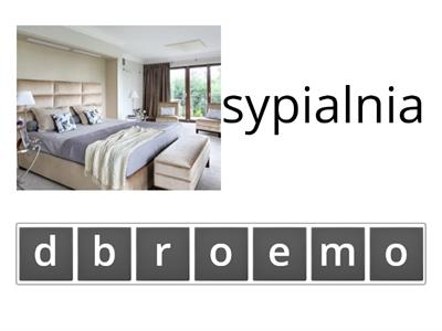 rooms in the house anagrams