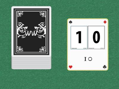 Number Cards-10s