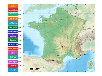 Cartina Francia Tolosa.Francia Risorse Per L Insegnamento