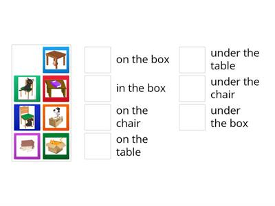 Prepositions of place elementary