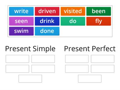 Present Simple and Present Perfect