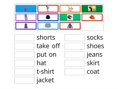 Spotlight module 13 Clothes